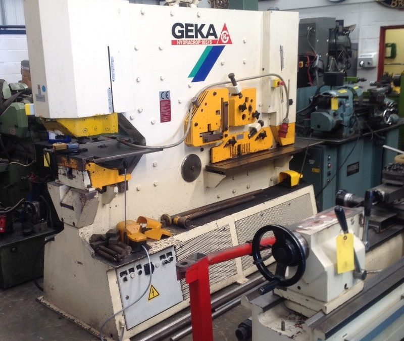 Used Geka 165/S hydraulic steelworker