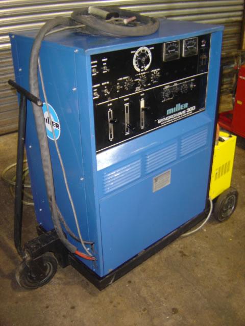 Used Miller Syncrowave 300 AC DC Tig welder 9817 (2