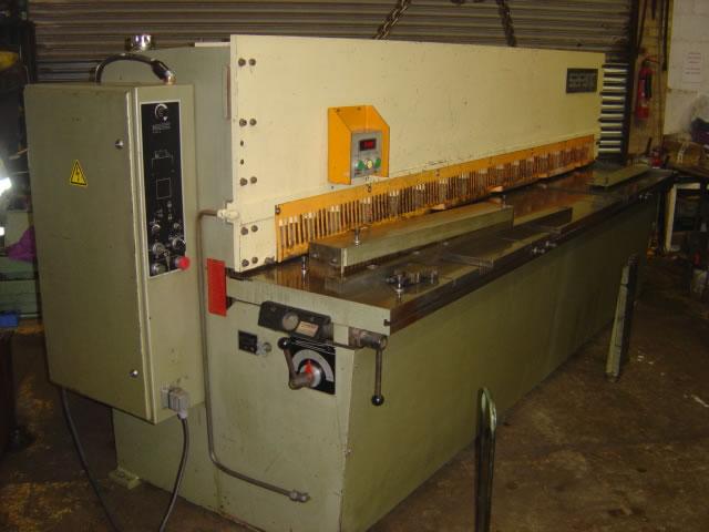 Used Safan VS 310-6 Hydraulic Shear