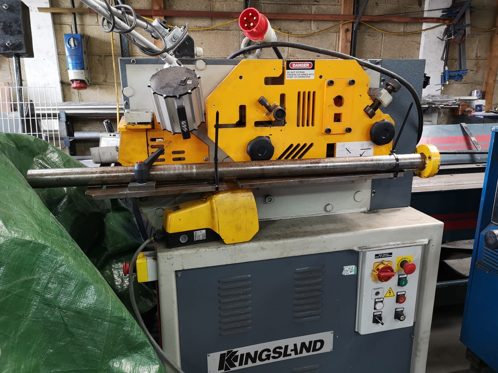 Kingsland Compact 40 steelworker | Chiviott - Used Machine Tools